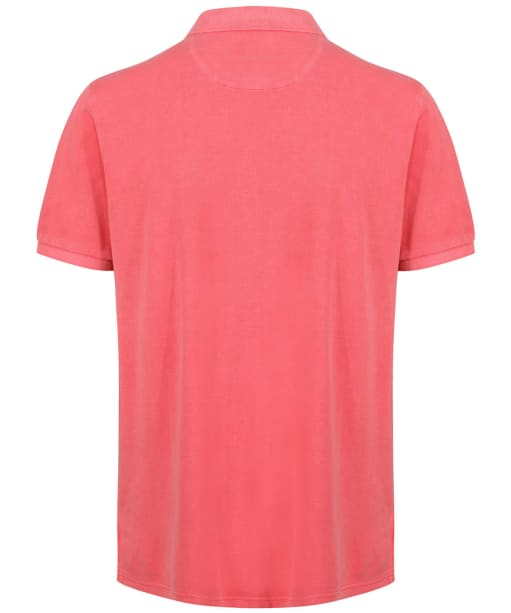 Men's Schoffel St Ives Classic Polo Shirt - Coral