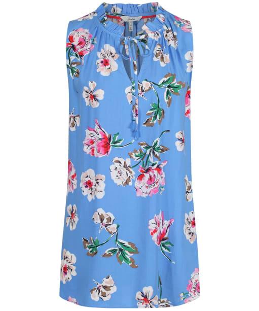 Women's Joules Cierra Top - Blue Floral