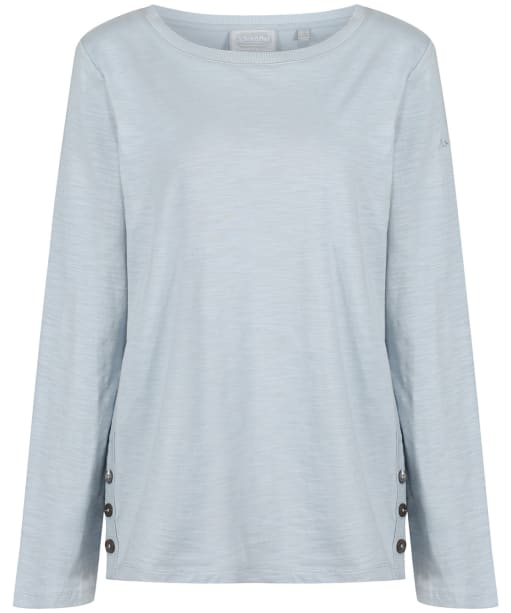 Women's Schöffel Guernsey Scoop Top - Ice Grey