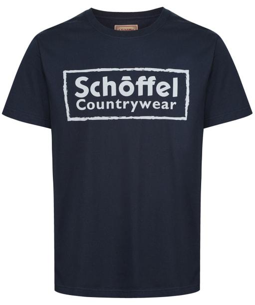 Men's Schoffel Heritage T-Shirt - Navy