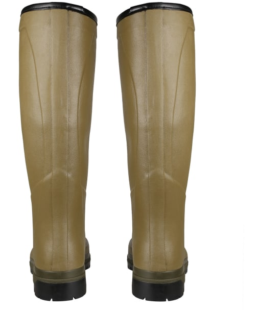 Men's Le Chameau Country Cross Jersey Wellington Boots - Vert Vierzon