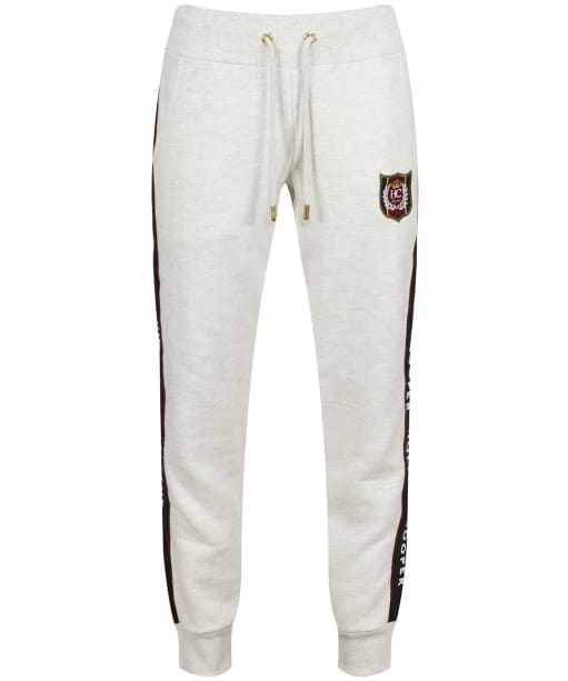 Women's Holland Cooper Crested Joggers - Ice Grey Marl