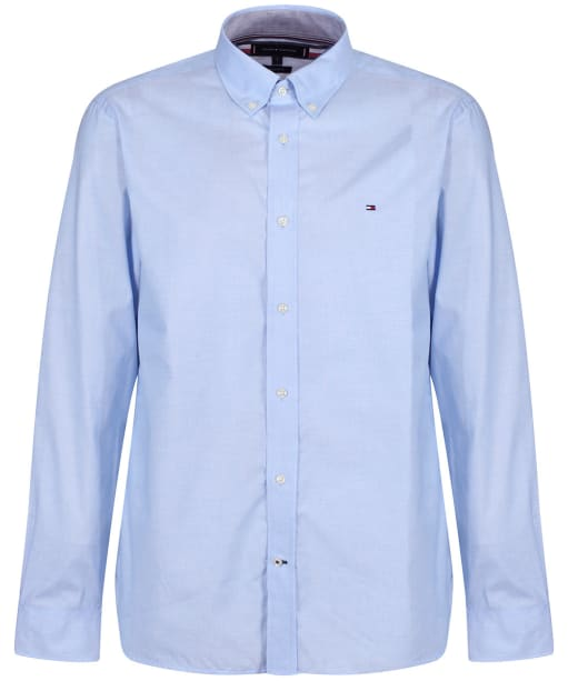 Men's Tommy Hilfiger Natural Soft Poplin Shirt - Copenhagen Blue