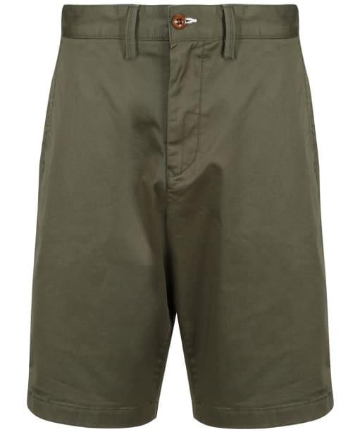 Men's GANT Relaxed Twill Shorts - Dark Leaf