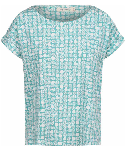 Women's Lily & Me Weekend Tee - Turquoise