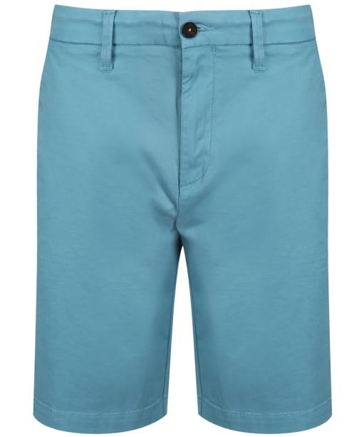 Men's Timberland Squam Lake Stretch Twill Chino Shorts - Adriatic Blue
