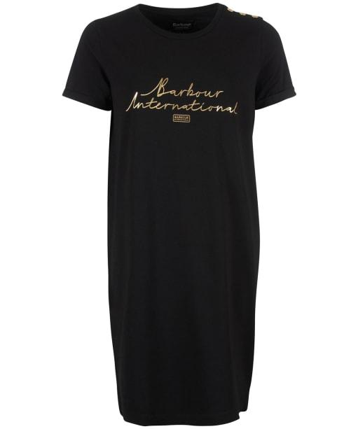 Women's Barbour International Sitka Dress - Black