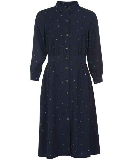 Women's Barbour Merlin Dress - Navy Print