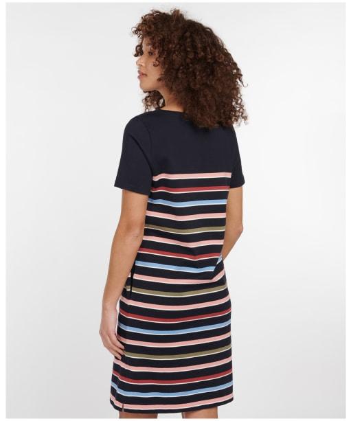 Women's Barbour Hawkins Dress - Navy Stripe