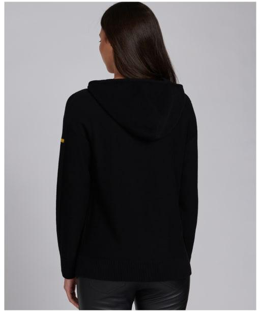 Women's Barbour International Sitka Knit - Black