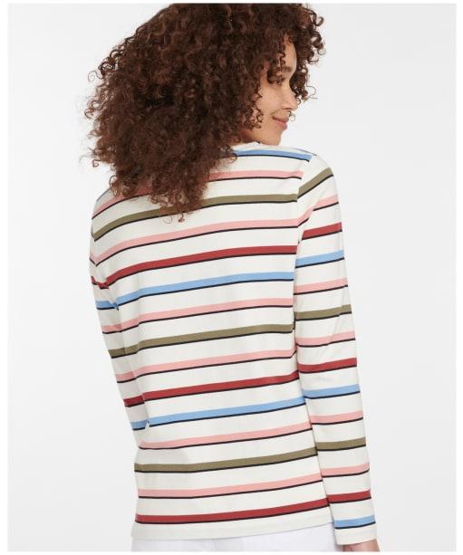 Women's Barbour Hawkins Top - Cloud Stripe