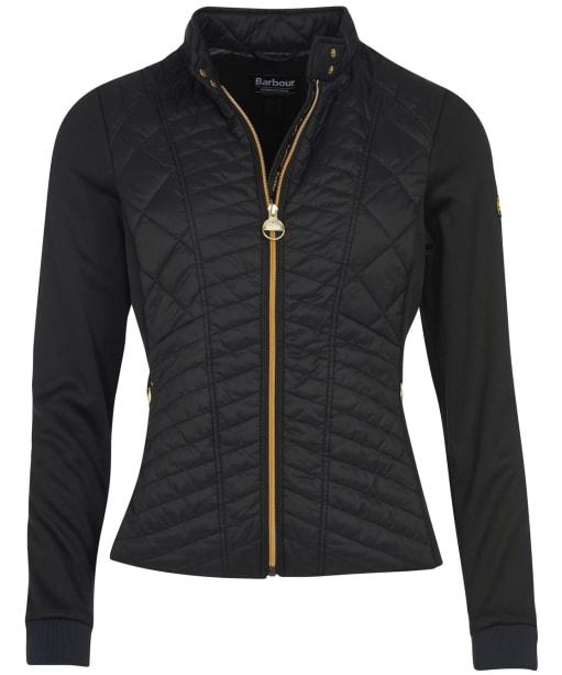 Women's Barbour International Hallstatt Sweater Jacket - Black