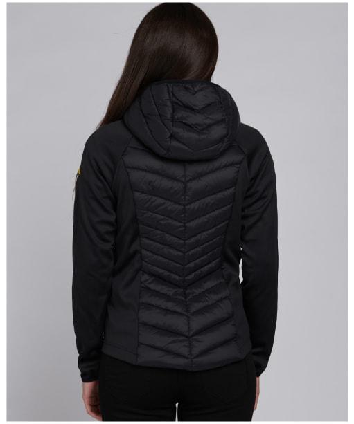 Women's Barbour International Carnaby Sweater Jacket - Black