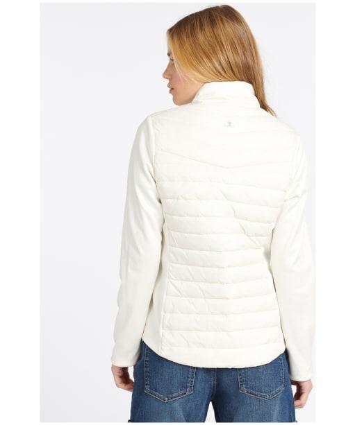 Women's Barbour Saltwater Sweater Jacket - Cloud
