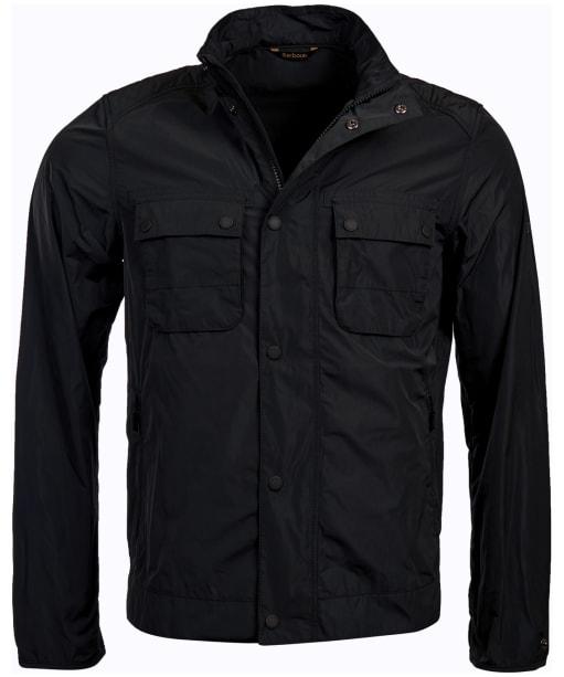 Men's Barbour International Stannington Casual Jacket - Black
