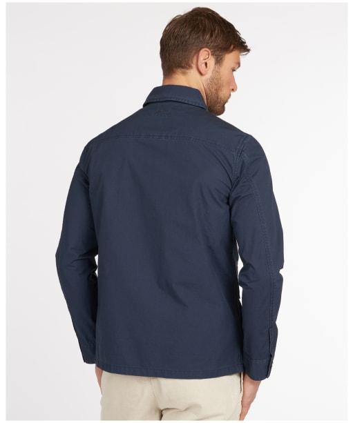 Men's Barbour Rowden Casual Jacket - Navy