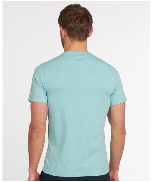 Men's Barbour Seton Tee - Nile Blue