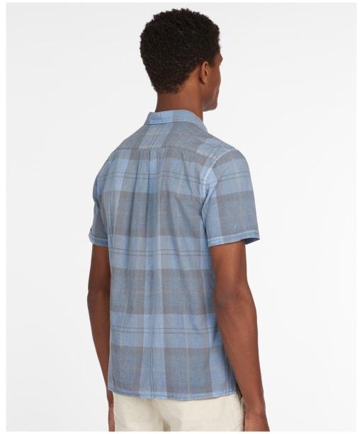 Men's Barbour Tartan 17 S/S Summer Shirt - PIGMENT BLUE