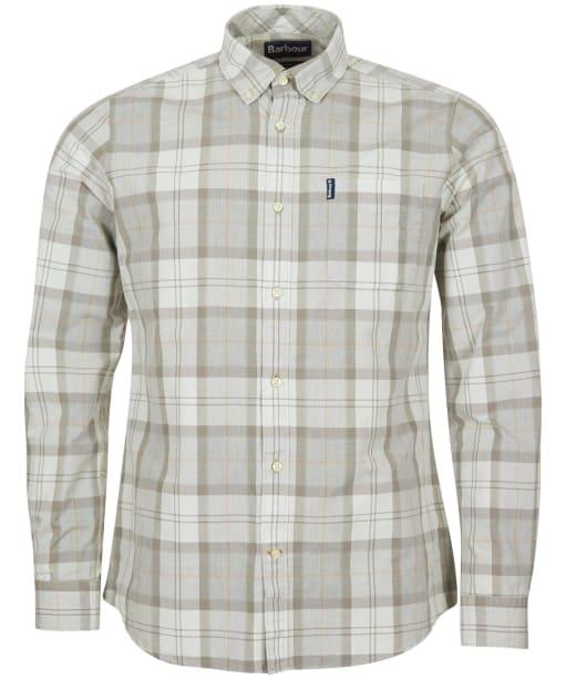 Men's Barbour Tartan 18 Tailored Shirt - Stone