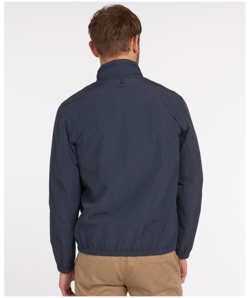 Men's Barbour Herron Waterproof Jacket - Navy