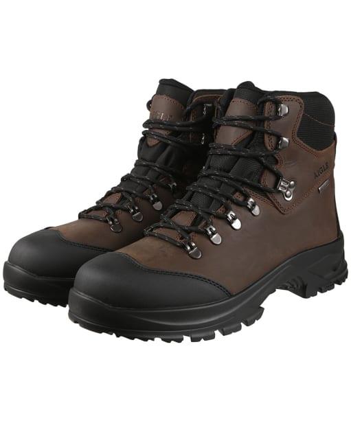 Men's Aigle Laforse 2 MTD Boots - Dark Brown
