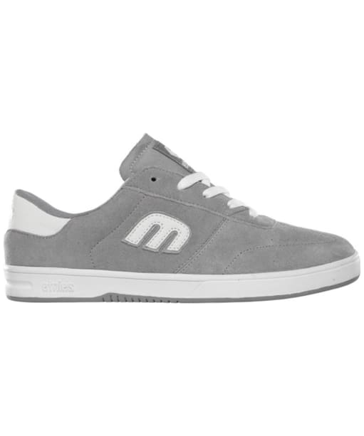 Women's etnies Lo-Cut Skate Shoes - Grey / White