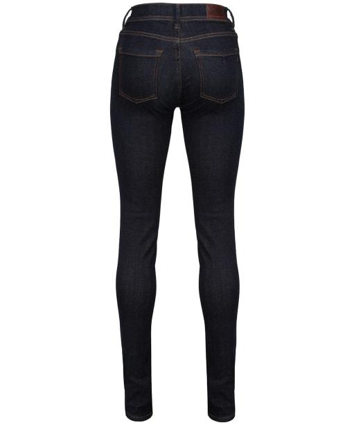 Women's Barbour International Scrambler Skinny Jeans - Rinse