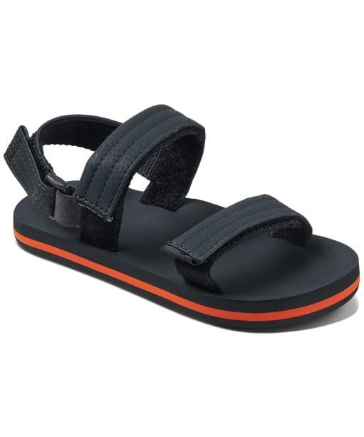 Boy's Reef Little Ahi Convertible Sandals - Littles - Grey / Orange