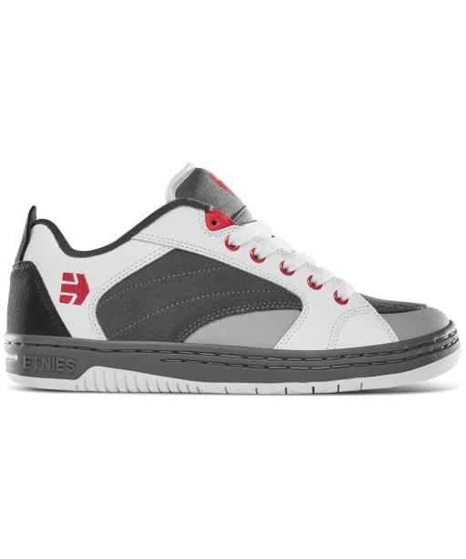 Men's etnies Czar Skate Shoes - Grey / White / Red