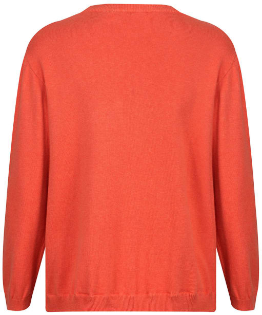 Women's Lily & Me Textured Jumper - Burnt Orange