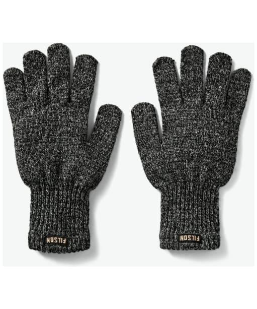 Filson Full Finger Knit Gloves - Charcoal