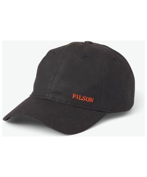Filson Oil-Tin Low-Profile Cap - Black
