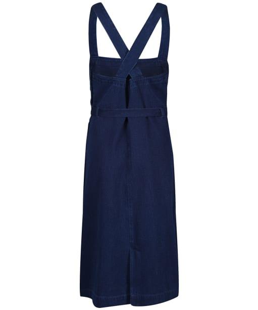 Women's Seasalt Lantivet Pinafore Dress - Dark Wash Indigo