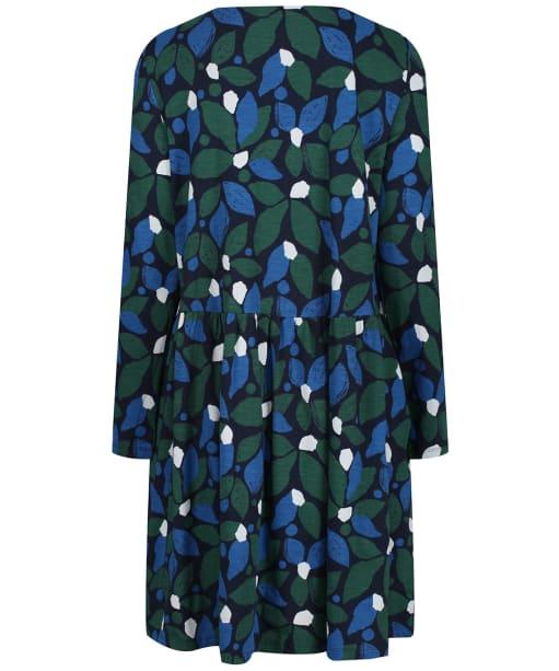 Women's Seasalt Sea Mirror Dress - Collaged Leaves Dark Forage