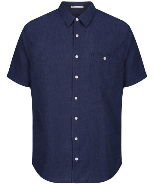 Men's Joules Breaker S/S Shirt - French Navy
