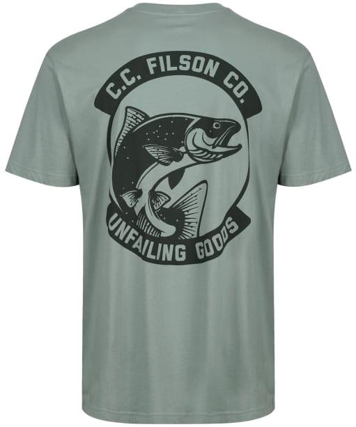 Men's Filson S/S Ranger Graphic T-Shirt - Lake Green
