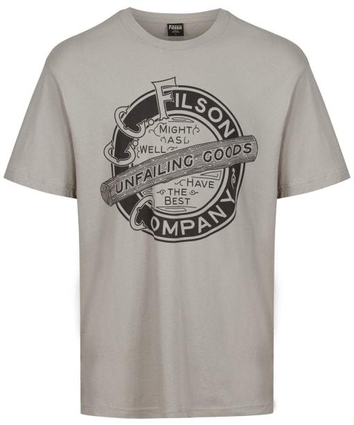Men's Filson S/S Ranger Graphic T-Shirt - Fog