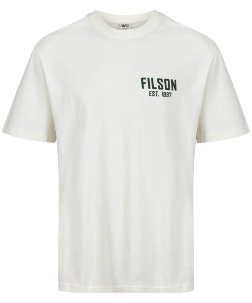 Men's Filson S/S Ranger Graphic T-Shirt - Off White