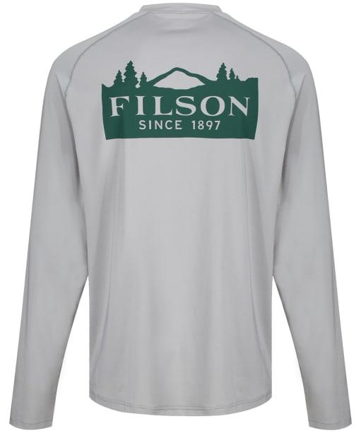 Men's Filson Barrier L/S T-Shirt - Flint Grey