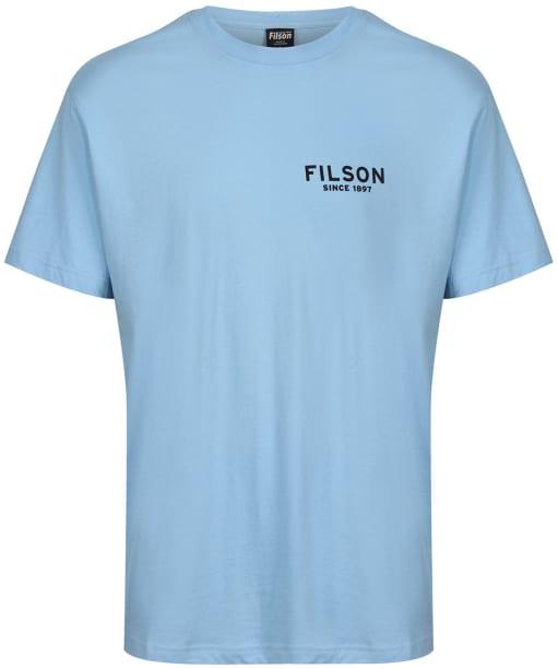 Men's Filson S/S Ranger Graphic T-Shirt - Blue Eagle
