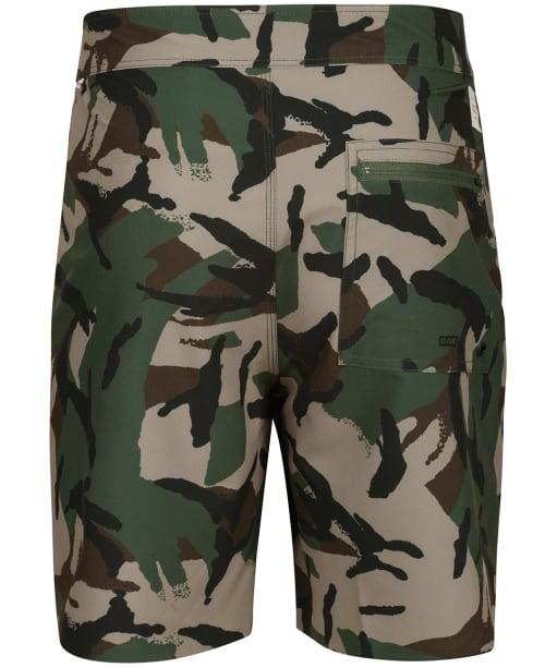 Men's Globe Every Swell Boardshorts - Olive Camaflage