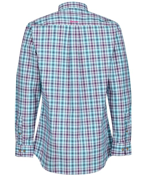 Men's Ariat Hawken Fitted L/S Shirt - Blue Depths
