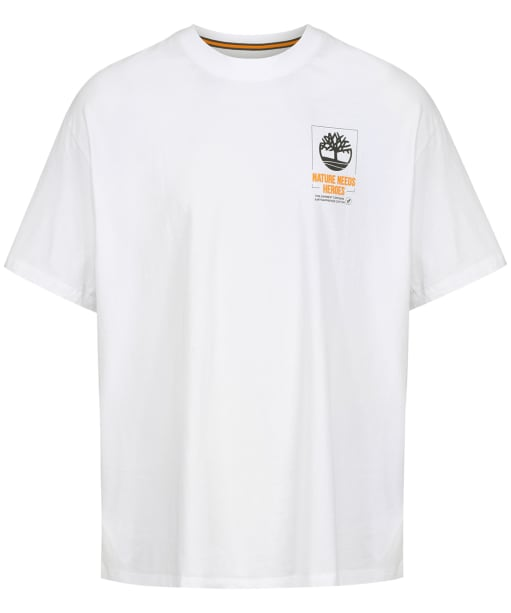 Men's Timberland NNH Back Graphic Tee - White