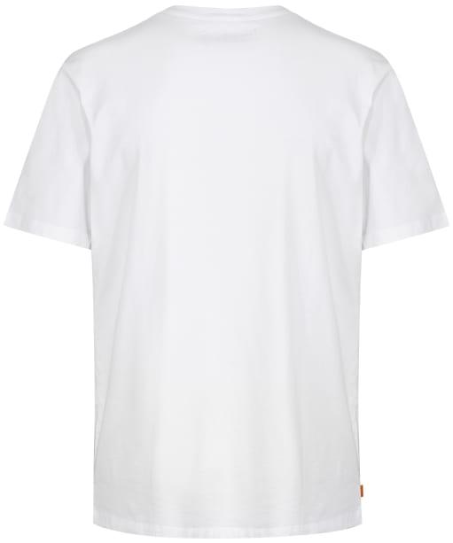 Men's Timberland NHH Front Graphic Tee - White