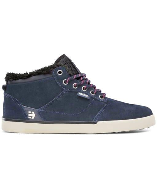 Women's etnies Jefferson MID Skate Shoes - Navy