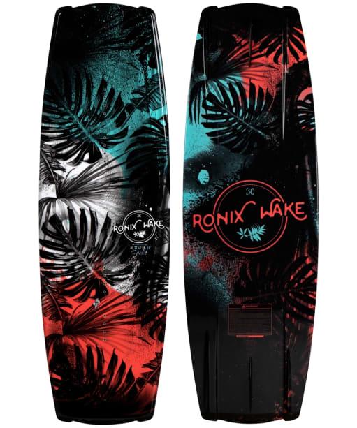Women's Ronix Krush Secret Flex Wakeboard - Black / Mint / Coral