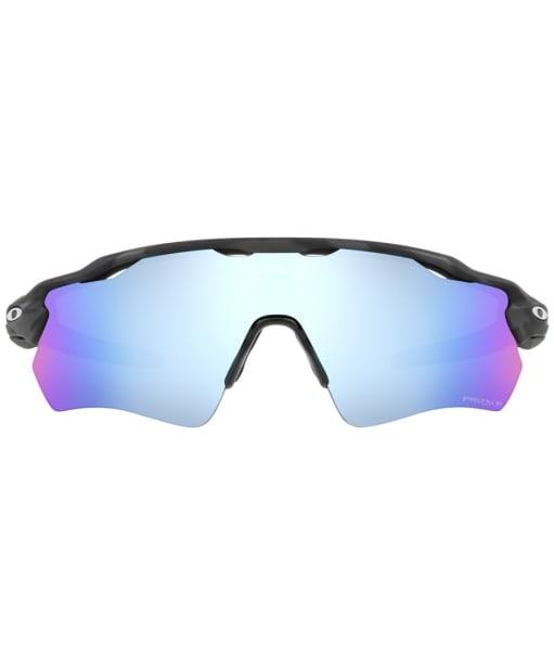 Oakley Radar EV Path Prizm Deep Water Polarized Sunglasses - Matte Black Camo