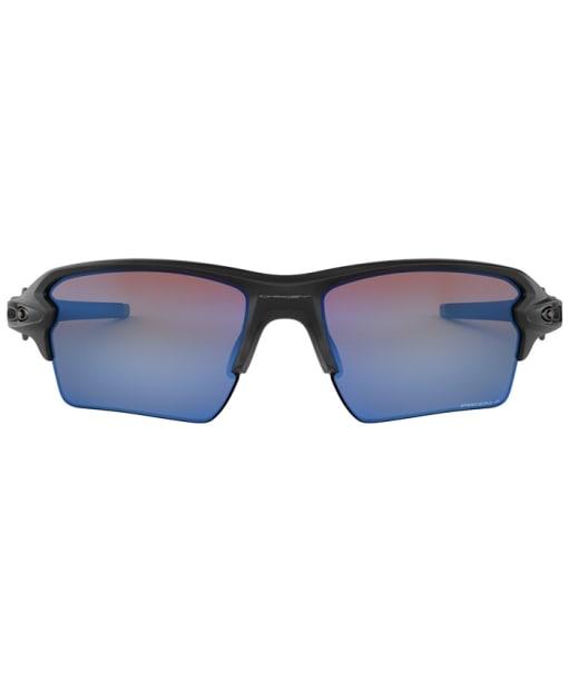 Oakley Flak 2.0 XL Prizm Deep Water Polarized Sunglasses - Matte Black