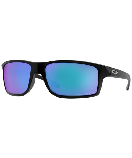 Oakley Gibston Prizm Sapphire Sunglasses - Matte Black