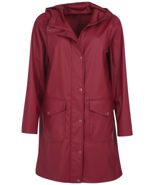 Women's Barbour Sandridge Showerproof Jacket - Mulberry